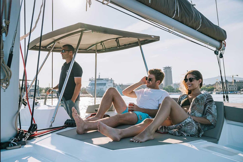 Catamaran Sail District 539