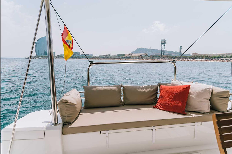 Catamaran Sail District 542