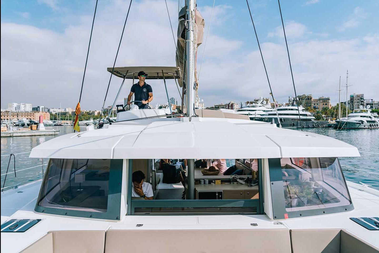 Catamaran Sail District 543