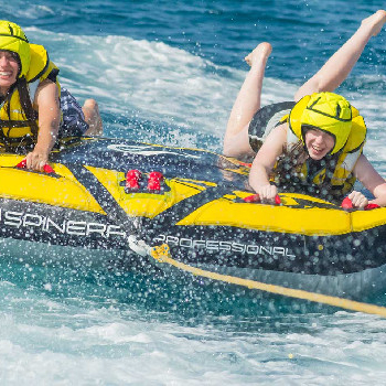 Crazy Sofa is a fun water activity perfect for sharing with family and friends.