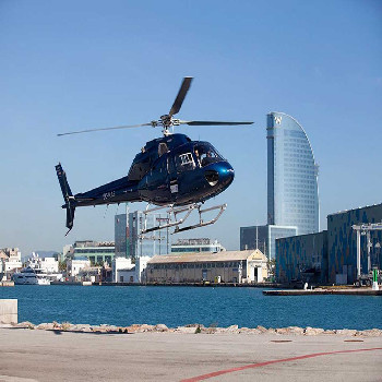 Combine incredible views from the sea and air with this boat and helicopter ride.
