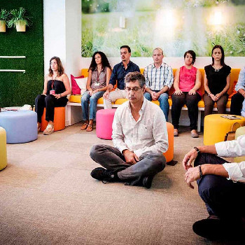 Discover our meditation for companies. We bring you the peace and the sea.