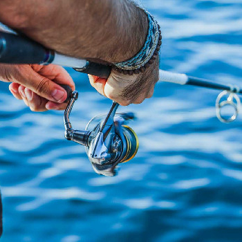 Go fishing in a boat with a professional instructor and find the best places to fish.