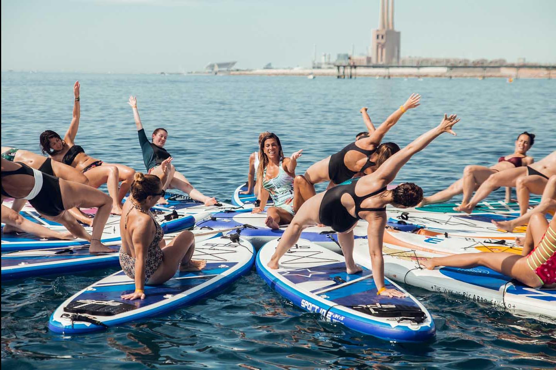 SUP Yoga 353