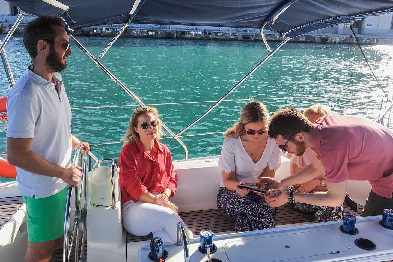 Eco sailing 329