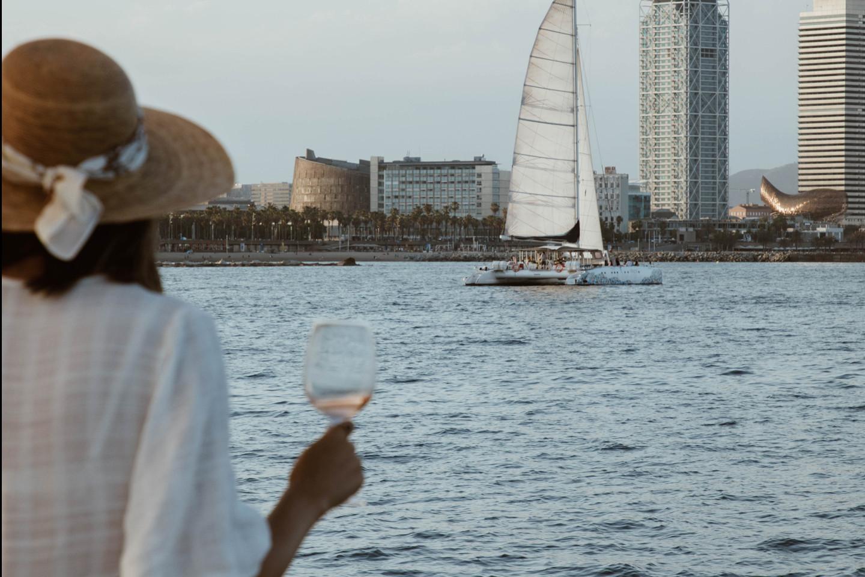 Sunset sailing 734