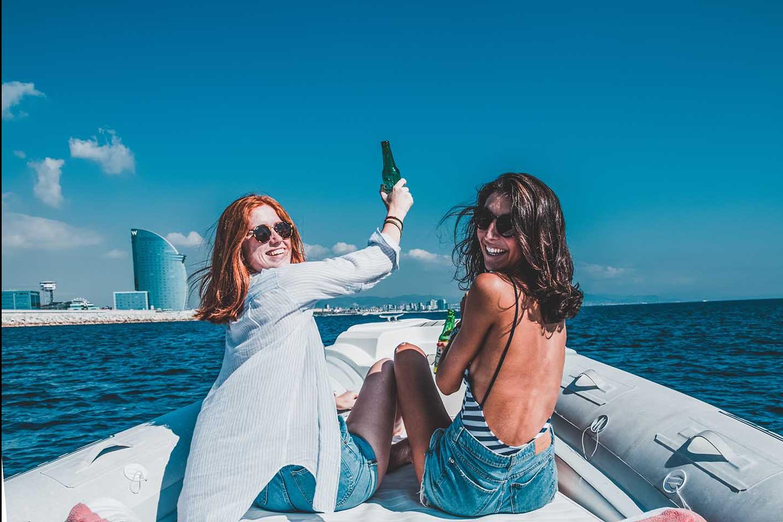 Fiesta en barco con hinchables 419